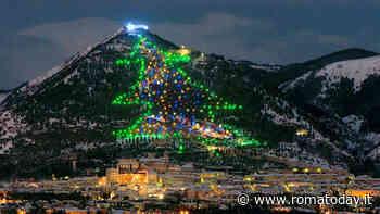 A Gubbio l'albero di Natale più grande del mondo
