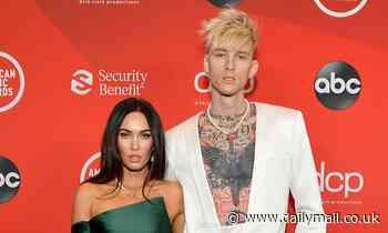 Megan Fox and boyfriend Machine Gun Kelly make their red carpet debut at 2020 American Music Awards