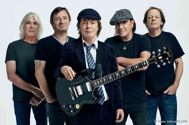 AC/DC's 'Power Up' Charges In at No. 1 on Billboard 200 Albums Chart