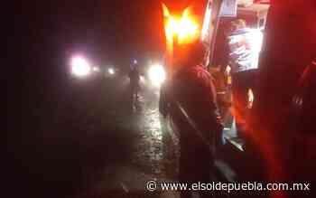 Vuelcan y caen a un barranco a 50 metros de profundidad en Zacatlán - El Sol de Puebla
