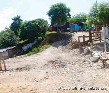 El barranco en Barrio Nuevo amenaza con dejarlos sin casa - El Universal - Colombia