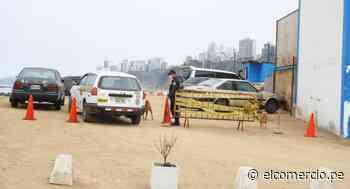 Policía de Salvataje utiliza sin autorización playa de Barranco como estacionamiento - El Comercio Perú