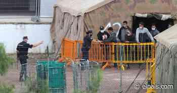 Barranco Seco, un mes de retraso para abrir el campamento de inmigrantes - EL PAÍS