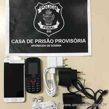Polícia penal intercepta celulares enviados por drone à CPP de Aparecida - Mais Goiás