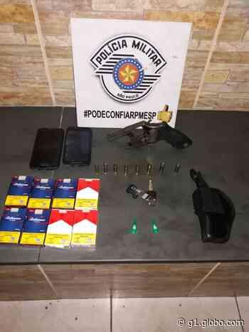 Casal é preso por roubo e porte de arma em Aparecida (SP) - G1