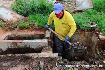 Aparecida intensifica limpeza de bocas de lobo durante período chuvoso - Diário do Estado