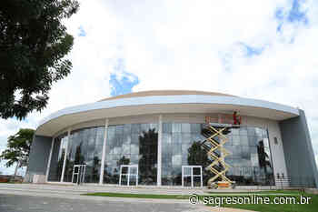 Anfiteatro Municipal de Aparecida está em fase de conclusão - Sagres Online