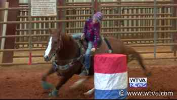 National Barrel Horse Association holds holiday competition in Winona - WTVA