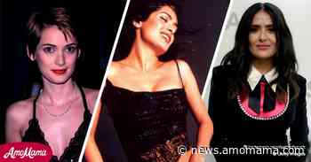Salma Hayek Shows Striking Resemblance to Winona Ryder in a Throwback Photo - AmoMama