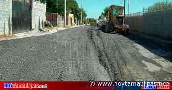 Ayudará pavimentación de calle Pilotos en Nuevo Laredo a desfogar tráfico - Hoy Tamaulipas