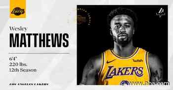 Lakers Sign Wesley Matthews - Lakers.com