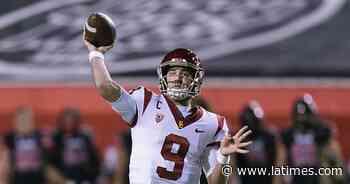 Questions linger about USC's Kedon Slovis after effort vs. Utah - Los Angeles Times