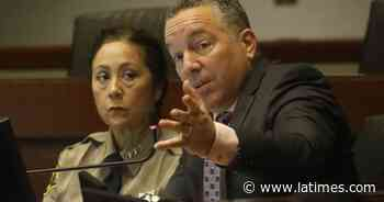 L.A. County Sheriff cannot ignore subpoena, judge rules - Los Angeles Times