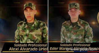 Disidencias de las Farc asesinan a 2 soldados profesionales en una emboscada - Pulzo.com