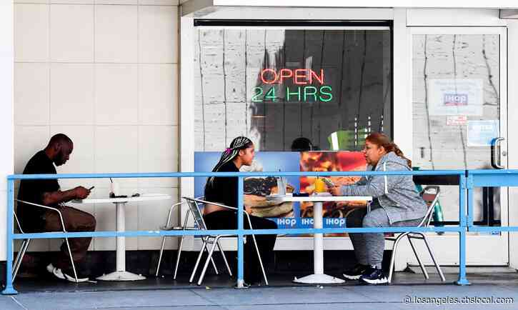 In-Person Dining At Restaurants, Other Establishments To Be Prohibited Under Modified LA County Public Health Order