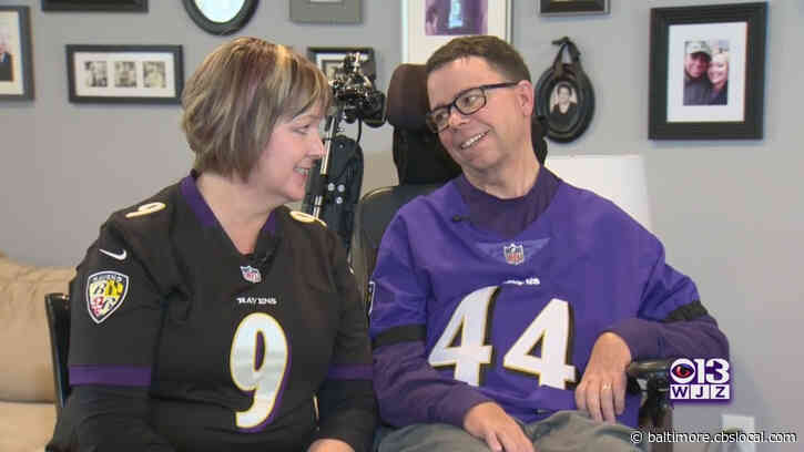 Baltimore Couple Says Brigance Brigade, Ravens' Fighting Spirit Encourages Them To Tackle ALS, Educate Others