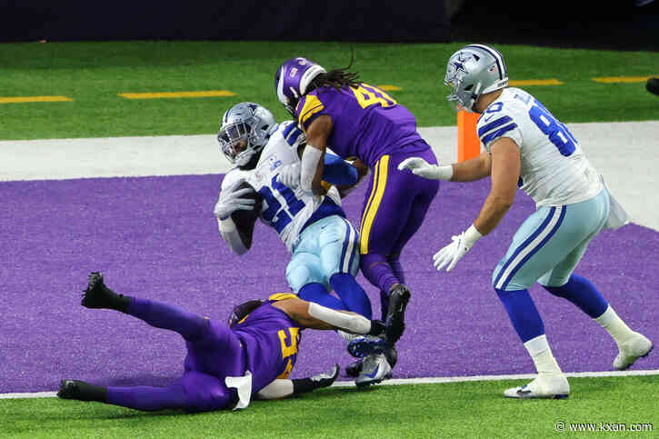 Cowboys clinging to 16-14 lead over Vikings at start of 4th quarter