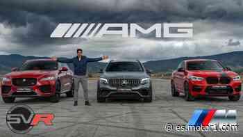 Batalla de SUV: BMW X4 M vs. Mercedes GLC 63 S vs. Jaguar F-PACE SVR - Motor1.com España