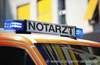 Landstraße bei Schwieberdingen - 29-Jähriger lässt demoliertes Cabrio einfach stehen - Stuttgarter Zeitung