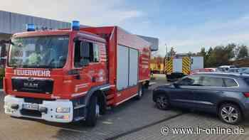 Feuerwehreinsatz: Gasaustritt aus Post-Päckchen in Elsterwerda - Lausitzer Rundschau