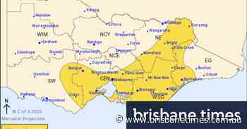 Flash flooding expected as rain drenches Melbourne and parts of the state