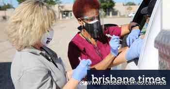 Mass COVID-19 vaccination gets a dry run in a Louisiana parking lot