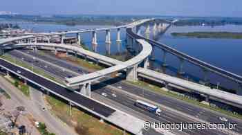 Dnit alerta para restrição de faixa para obras da nova Ponte do Guaíba no domingo - Blog do Juares