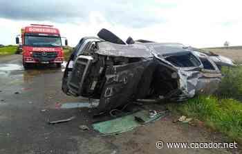 Fatalidade: Capotamento acaba em morte entre Lebon Régis e Curitibanos - Caçador Online