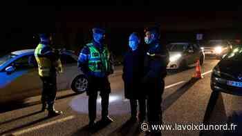 Vimy: des automobilistes disciplinés lors du gros contrôle des mesures sanitaires par la gendarmerie - La Voix du Nord