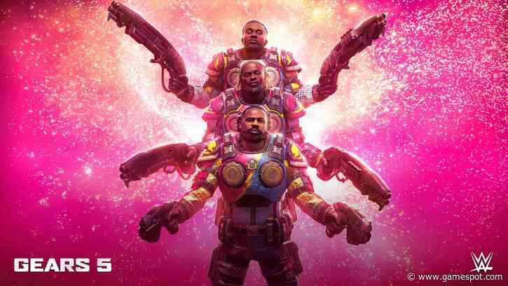 Gears 5 Adds WWE Wrestling Trio The New Day As Playable Characters