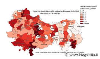 Covid19, tutti i positivi in provincia di Palermo, allarme a Ciminna, Misilmeri e Castelbuono - BlogSicilia.it