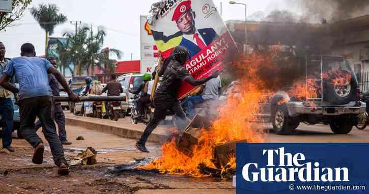 Bobi Wine protests: arrest sparks Uganda's worst unrest in years – video report