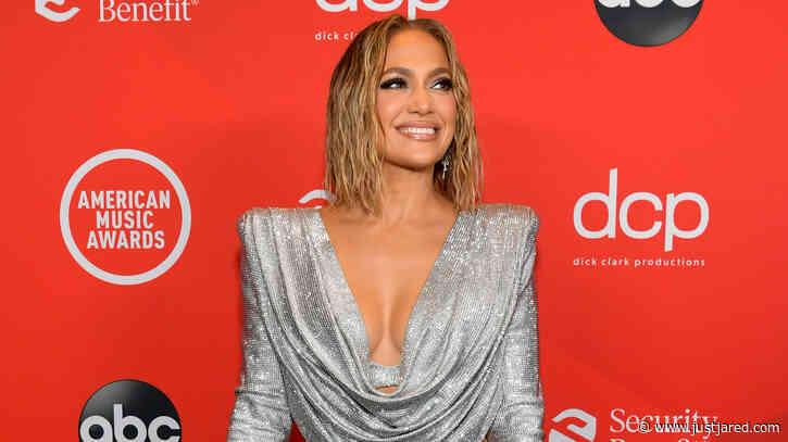 Jennifer Lopez Bares a Lot of Leg on American Music Awards 2020 Red Carpet!