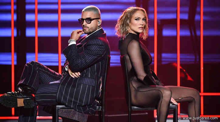 Jennifer Lopez & Maluma Definitely Had the Sexiest Performance at AMAs 2020!