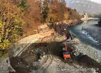 Lavori in corso al Parco Magni di Borgosesia: messa in sicurezza dopo l'alluvione - valsesianotizie.it