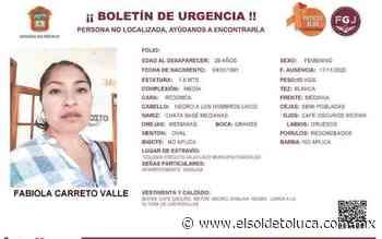 Piden ayuda para localizar a madre desaparecida en Coacalco - El Sol de Toluca