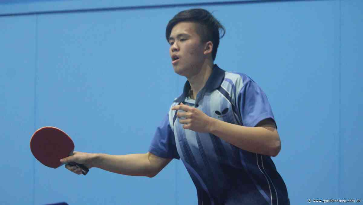 Richie Jiang shines among Table Tennis Club finalists - Goulburn Post