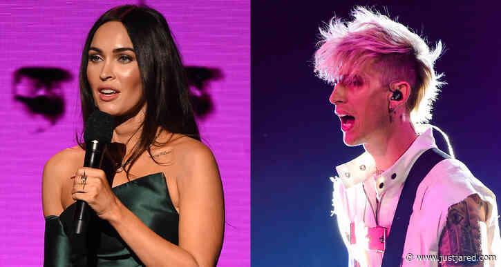 Megan Fox Introduces Machine Gun Kelly's Performance at American Music Awards 2020!