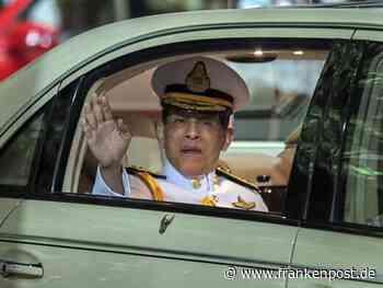 Kontrolle des Thai-Königs in Deutschland begrenzt möglich - Frankenpost