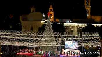 Palestinians may limit Christmas celebrations in Bethlehem