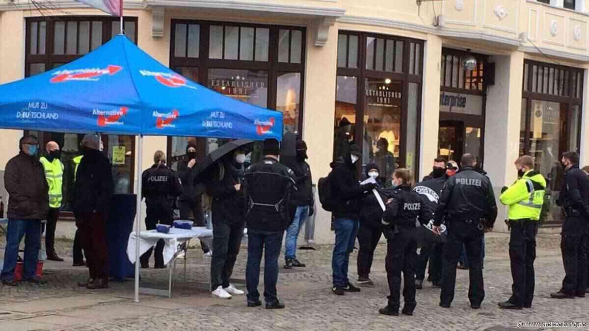 Polizeiaufgebot auf dem Wochenmarkt - kreiszeitung.de