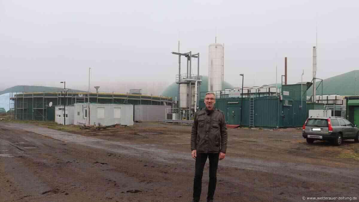 Brand auf Biogasanlage wundert neuen Chef - Wetterauer Zeitung