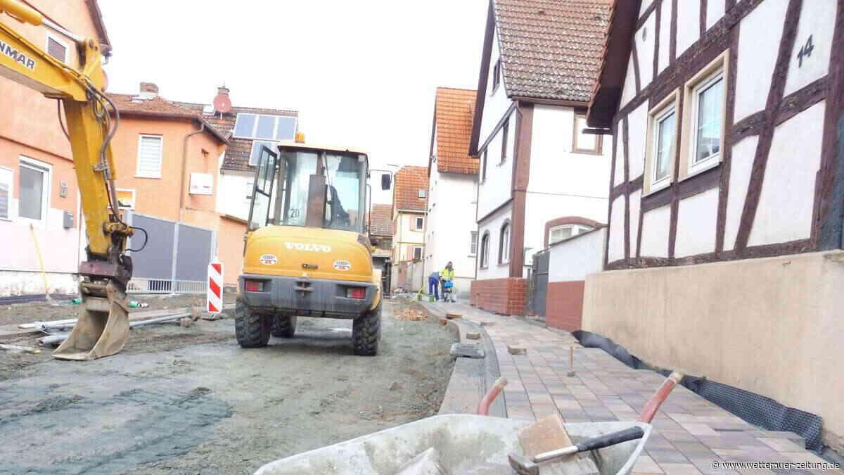 Endspurt in der Groß-Karbener Ortsdurchfahrt - Wetterauer Zeitung