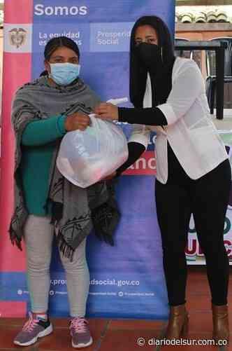Donaron alimentos a familias vulnerables en Guachucal - Diario del Sur
