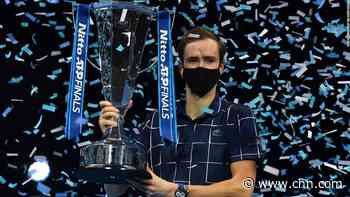 Medvedev battles from behind to win ATP Finals