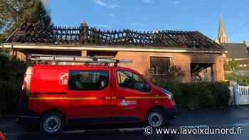 Ablain-Saint-Nazaire : un feu de garage se propage à la toiture d'une d'habitation - La Voix du Nord