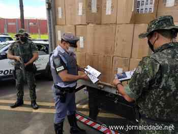 PM Ambiental apreende mais de 700 caixas de cigarros contrabandeados em Cerquilho - Grupo JC de Comunicação