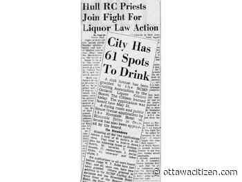 That was then: Liquor-saturated Ottawa faces more 'accidents and sorrow'
