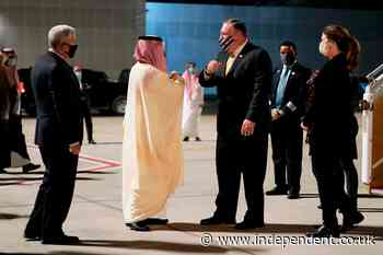 Pompeo, Netanyahu and MBS 'attend secret meeting in Saudi Arabia', in potential sign of new peace deal discussions
