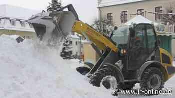 Winterdienst: Die Straßenmeisterei Herzberg ist gerüstet - Lausitzer Rundschau